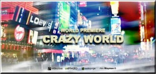 Crazy World - Projects for After Effects (VideoHive)