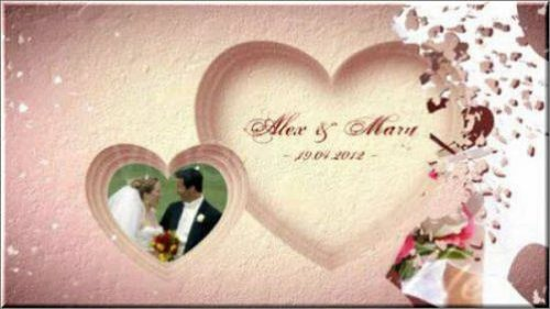 Videohive After Effects Project - Wedding Hearts Slideshow