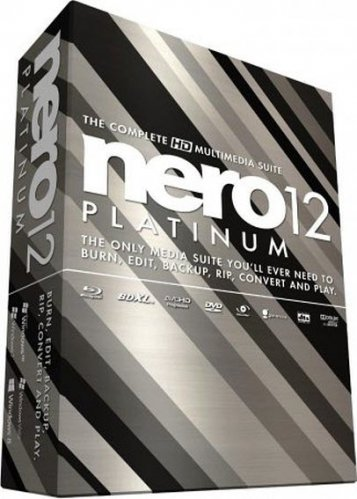 Nero 12 Platinum HD v 12.5.01400 Final + Content Pack
