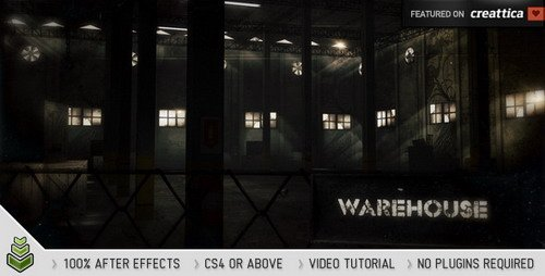 Warehouse - After Effects Project (Videohive)