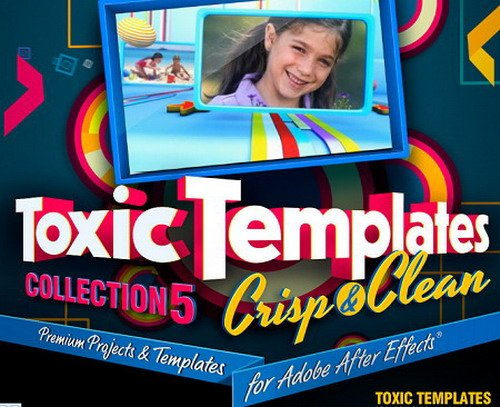 Digital Juice - Toxic Templates Collection 5 Crisp and Clean (AE)