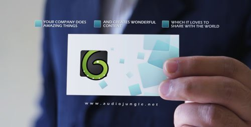 Business Card V1 - Project for After Effects (VideoHive)