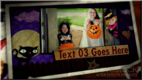 Revostock After Effects Project - Kids Halloween