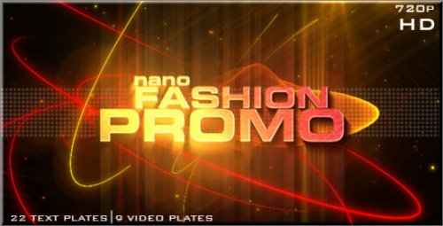VideoHive Nano Fashion Promo 118472 - Project for After Effects