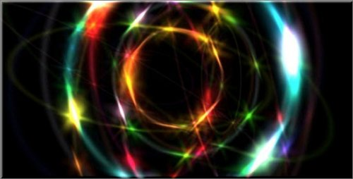 Videohive - Dazzling Rainbow Rings HD