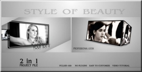 After Effects Project - Style Of Beauty 155461