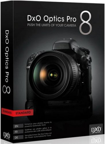 DxO Optics Pro 8.1.5 Build 294 Elite Portable by Valx (x32/x64)
