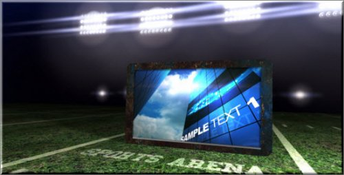 Videohive Sports Arena Showcase After Effects Project