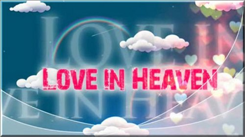 After Effects Slideshow - Love in Heaven