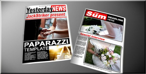 After Effects Project - Paparazzi Tabloid Newspaper 118929
