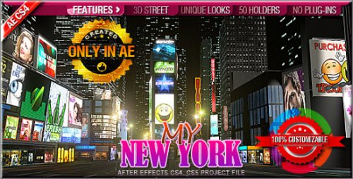 Videohive - My New York