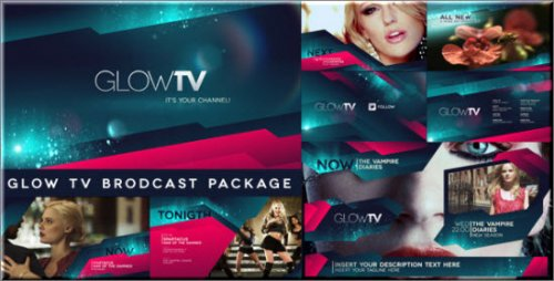 Videohive - Glow TV Broadcast Package