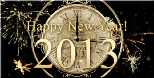 Project Videohive - New Year Countdown Clock 2013