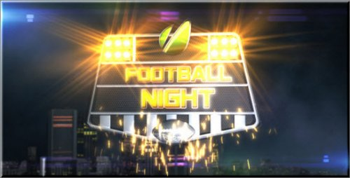 After Effects Project - Football Night Opener