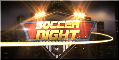 After Effects Project -  Soccer Night Opener