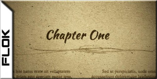 VideoHive Chapter One 4407249 HD