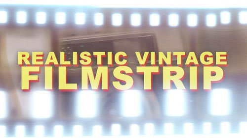 VideoHive Realistic Vintage Filmstrip - Horizontal (Motion Graphics)