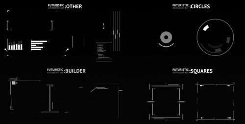 FUTURISTIC / Animation SET - Motion Graphics (VideoHive)