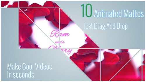 VideoHive Animated Style Mattes Vol 1 (Motion Graphics)