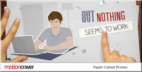 Videohive - Paper Cut Out Promo