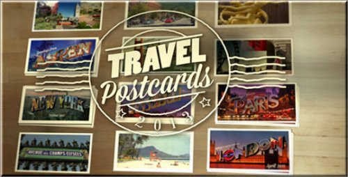 After Effects Project - Travel Postcards
