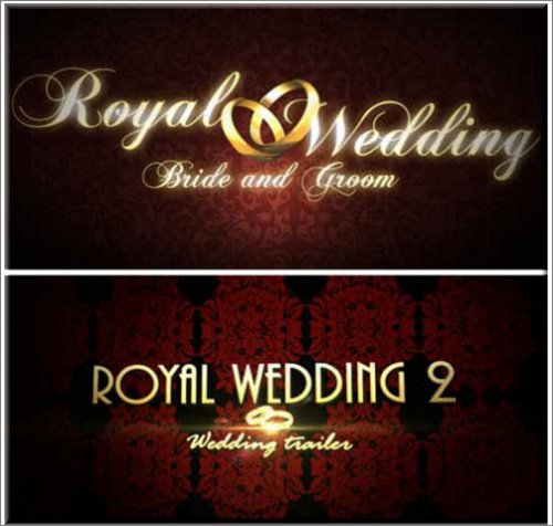 Royal Wedding 1-2 After Effect Projects