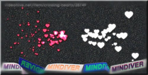 Videohive Crossing Hearts