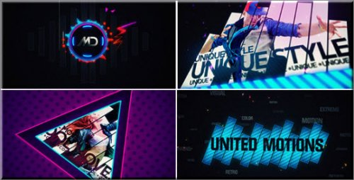 UnitedMotions - Projects for After Effects (VideoHive)