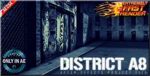After Effects Project Videohive - District A8