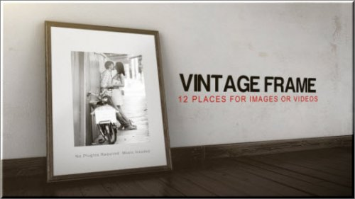 After Effects Project Videohive -  Vintage Frame Gallery