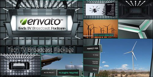 Tech TV Broadcast Package - Project for After Effects (Videohive)