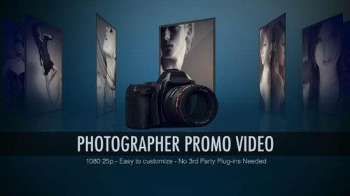 Photographer Promo Video - Project for After Effects (Videohive)