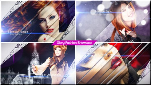 After Effects Project Videohive - Glory Fashion Showcase