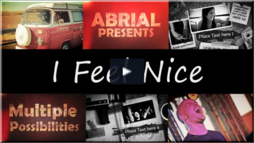 After Effects Project Videohive - I Feel Nice