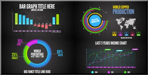 Infographics - Project for After Effects (Videohive)