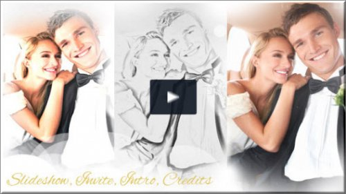 Wedding Intro & Wedding Slideshow - Project for After Effects (Videohive)