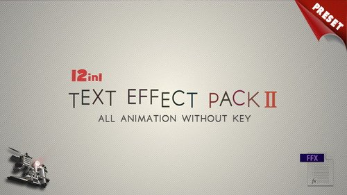 Text FX Pack II - Project for After Effects (Videohive)