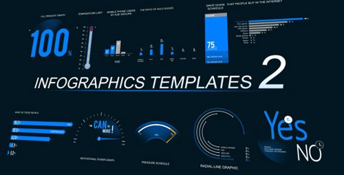 Infographics Template 2 - Project for After Effects (Videohive)