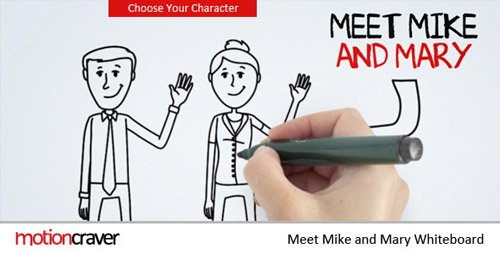 Meet Mike&Mary Whiteboard - Project for After Effects (Videohive)