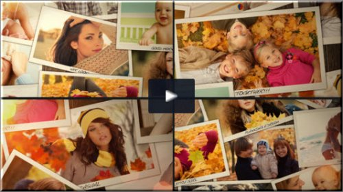 After Effects Project Videohive -  Moments Of Life