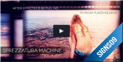 Videohive -Sprezzatura Machine Photo Gallery Pack