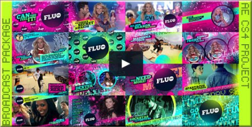 After Effects Project - Fluo TV