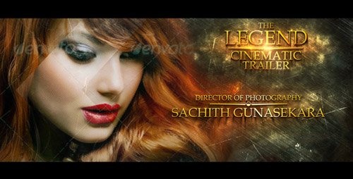 The Legend Cinematic Trailer - Project for After Effects (Videohive)