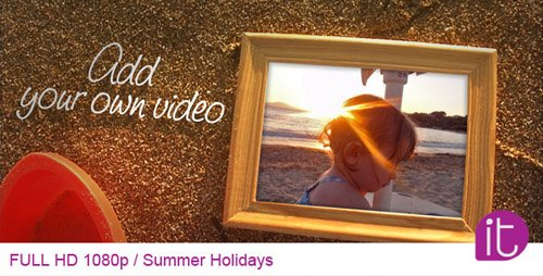 Summer Holidays - Project for After Effects (Videohive)