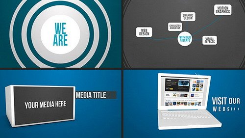 Portfolio/Company Motion Promo - Project for After Effects (Videohive)