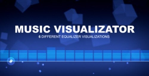 After Effects Project - Music Visualizator