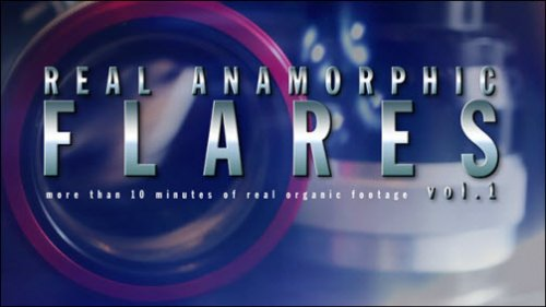After Effects Project -  Real Anamorphic Flares vol.2