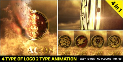 Fire Logo Reveal - Project for After Effects (VideoHive)