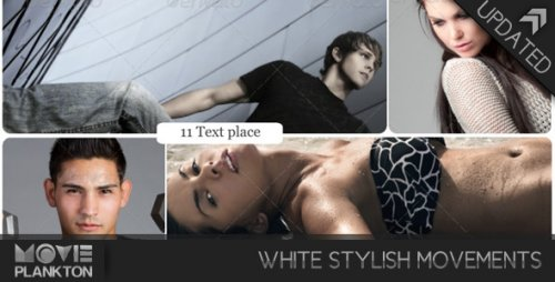 White Stylish Movements - Project for After Effects (Videohive)
