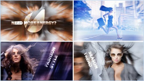 After Effect Project - Eye-Catching Volume 1: Energy